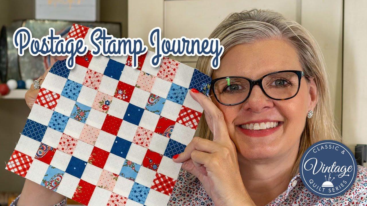 Download Make This Vintage Quilt 😍 Postage Stamp Quilt Block 🌟- Honey Bun Friendly