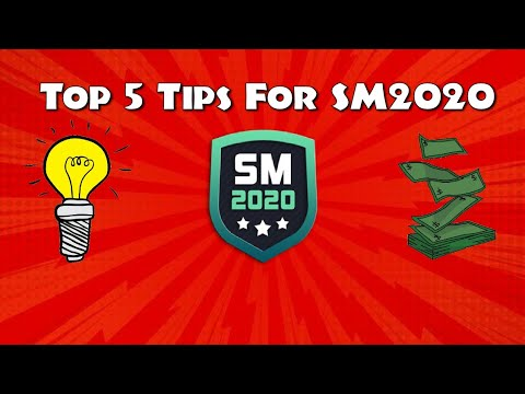 Top 5 Tips For Soccer Manager 2020!