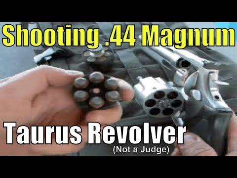 .44 magnum shooting