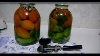 Как правильно СОЛИТЬ помидоры и огурцы ЛЕГКО!