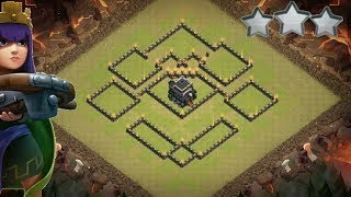 TH 9 WAR BASE 2018 ANTI GOWIPE  ANTI LAVALOONS CLASH OF CLANS .
