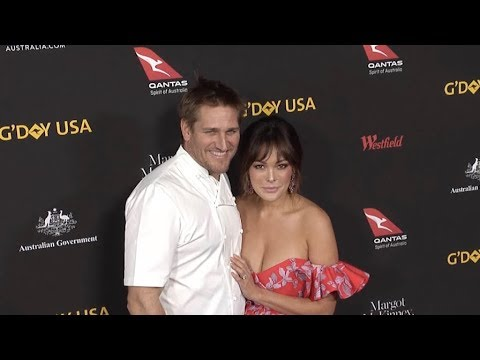 Curtis Stone and Lindsay Price at 2018 G Day USA Los Angeles Black Tie Gala
