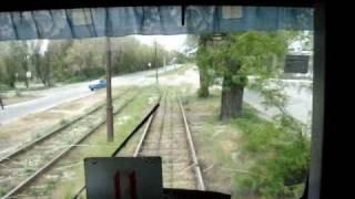 Запорожский трамвай. Поездка по 3-му маршруту