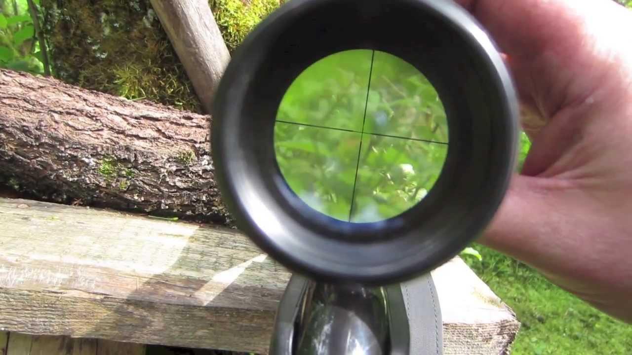Walther 3 9x40 zielfernrohr youtube