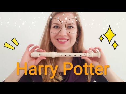 Hedwigs Theme - Harry Potter - Recorder tutorial + Sheets