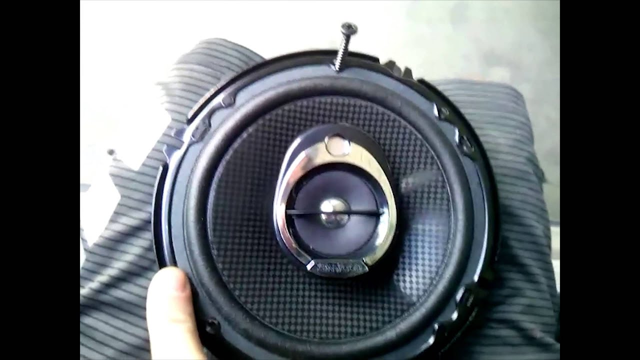 Mini Cooper S Front Speaker Audio Upgrade