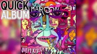 Baixar OVEREXPOSED (Album) by Maroon 5   Quick Album