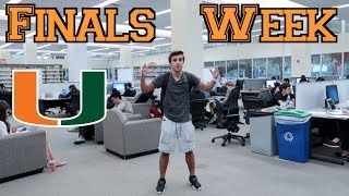 COLLEGE WEEK IN MY LIFE: FINALS at UMIAMI