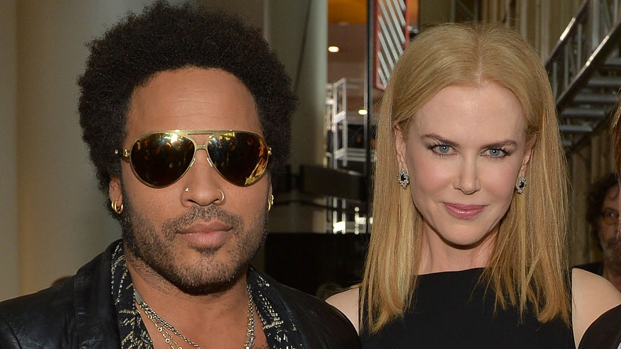 Nicole Kidman Reveals She Was Once Engaged to Lenny Kravitz - YouTube