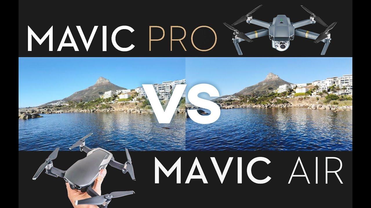 ba8b5495348 MAVIC AIR vs MAVIC PRO COMPARISON - YouTube