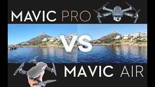 MAVIC AIR vs MAVIC PRO COMPARISON