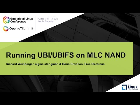 Running UBI/UBIFS on MLC NAND