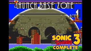 Launch Base Zone - Act 1 (Alternate BGM) [Sonic 3 Complete music]
