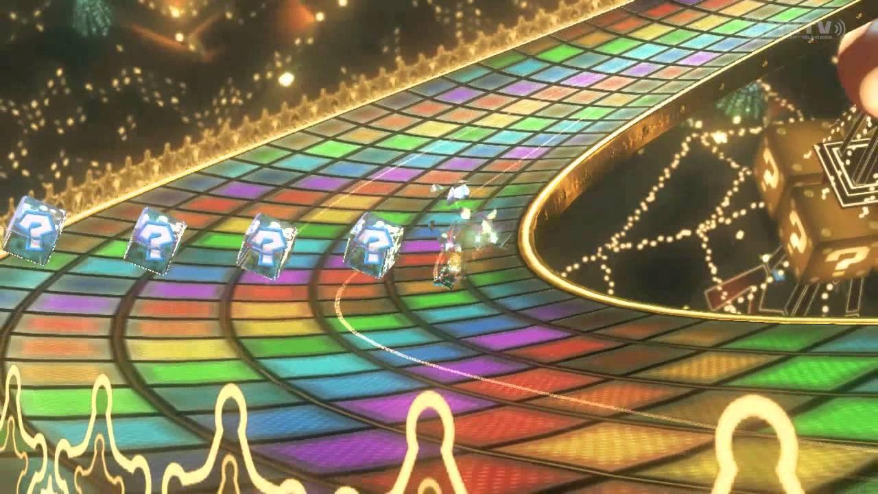 Mario Kart Regenbogen Boulevard