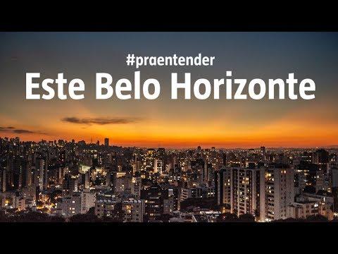 O que explica este pôr do sol incrível de Belo Horizonte
