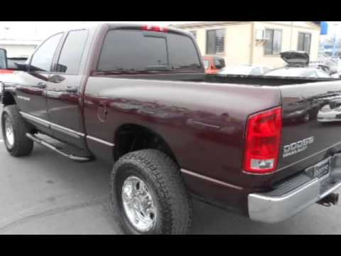 2004 Dodge Ram 2500 Slt 6 Speed Manual Crew Cab 4x4 For