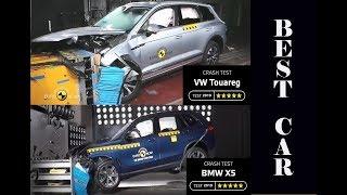 BMW X5 vs Volkswagen Touareg   2019 MODEL CAR CRASH TEST