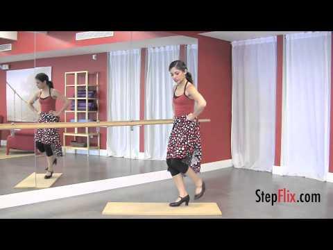 Flamenco Dance, Combination 1, StepFlix Lessons