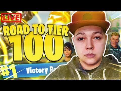 FORTNITE LIVE! SOLO/DUO GAMES! ROAD TO TIER 100! #36 WINS!