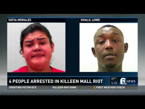 4 People Arrested In Killeen Mall Riot