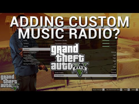 How to Add Your Own Custom Music Radio Station in GTA 5 on PC