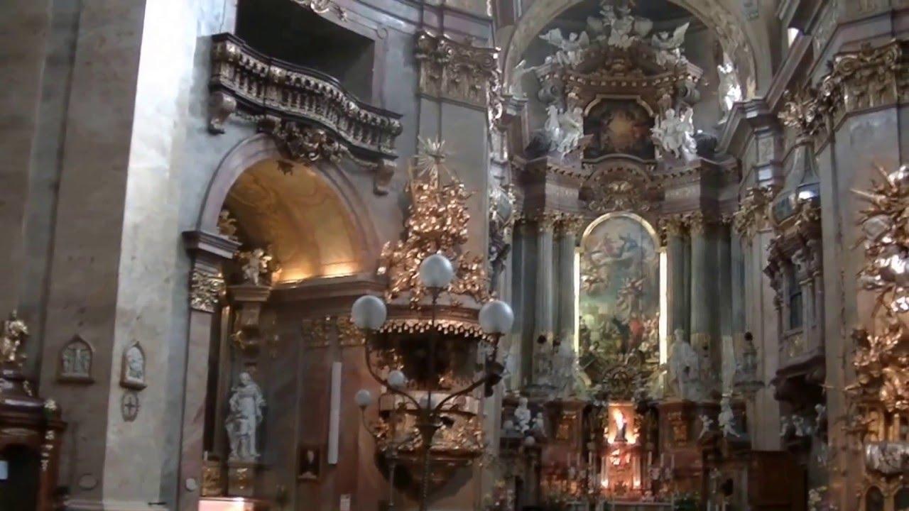 Wien St Peterskirche Orgel Youtube