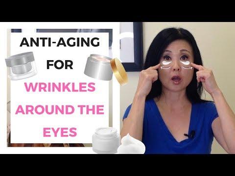 ANTI AGING Under Eye WRINKLES     CROWS FEET