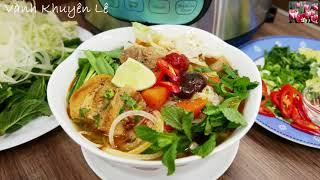 MÌ SƯỜN KHO - HỦ TIẾU, BÚN SƯỜN KHO - Cách nấu nhanh gọn với Instant Pot by Vanh Khuyen