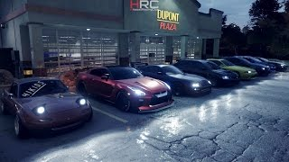 Need For Speed 2015 (PS4) | 1XXXHP Night Meet | R32 GTR Build, Cruise, Drags, Spirit Driving & More