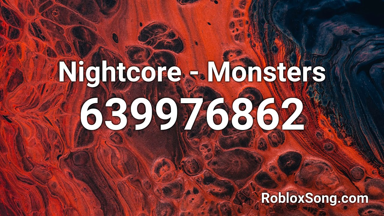 Roblox Song Id Monsters Inc Nightcore Monsters Roblox Id Roblox Music Code Youtube
