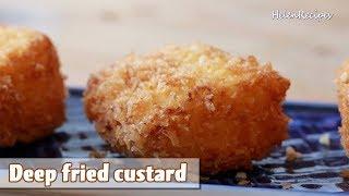Deep-fried custard - Bánh Sữa Tươi Chiên
