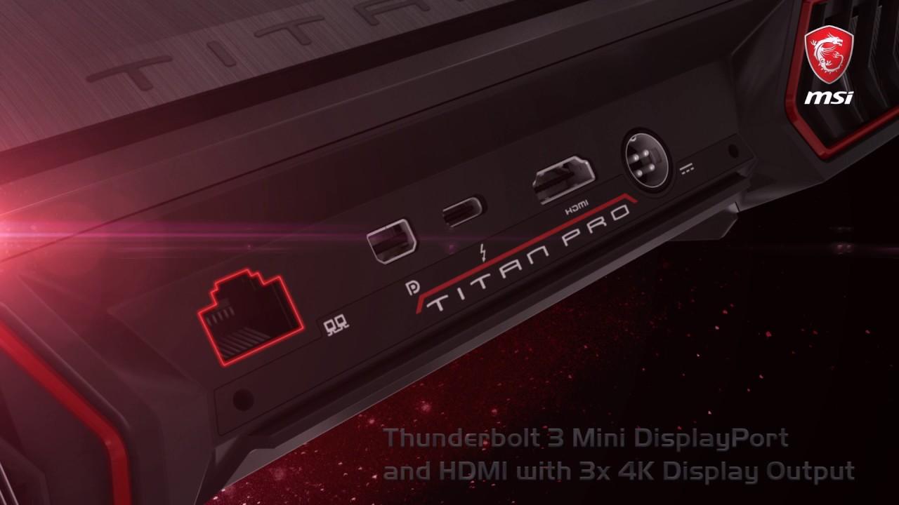 Premières images du GT75VR présenté au Computex