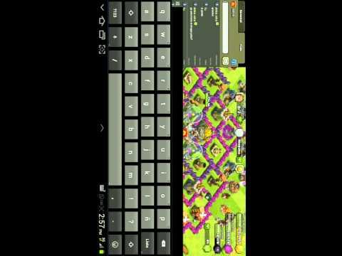 Como enviar emoticons en clash of clans (Android)