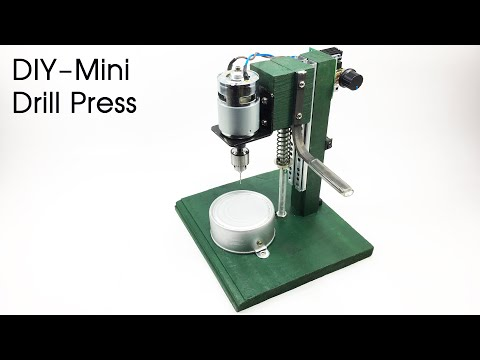 How to make a drill press machine at home using 775 motor