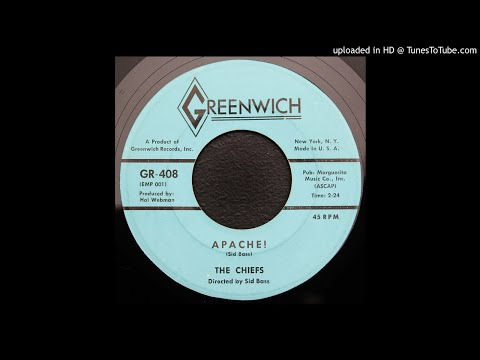 The Chiefs - Apache ! - 1959 Instrumental - Exotica/ Las Vegas Grind