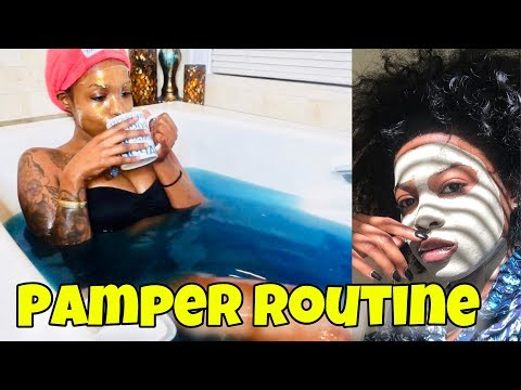 My Pamper Routine | At Home Spa Day | VEGAN TOOTHPASTE