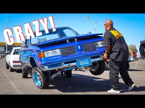 LIFTING A Lowrider!!!