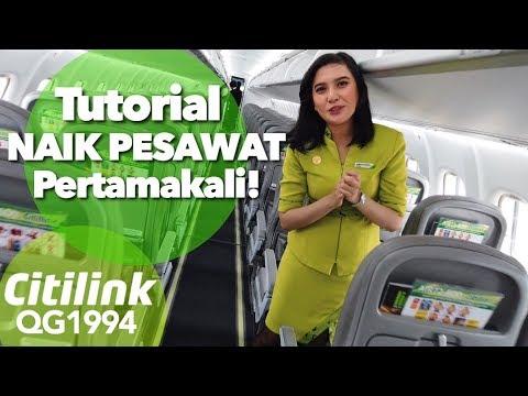 Tutorial Naik Pesawat Pertamakali | Citilink QG1994 Jakarta - Bandung Rp.300ribuan