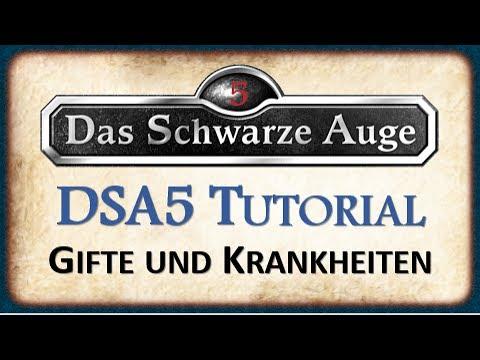 DSA5 Das Schwarze Auge Tutorial - Gifte und Krankheiten   Gegenmittel und Krankheiten heilen!