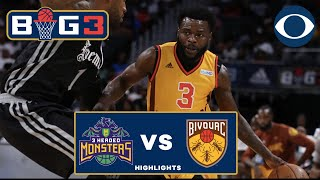Will Bynum comes up CLUTCH | Bivouac stun 3 Headed Monsters | BIG 3