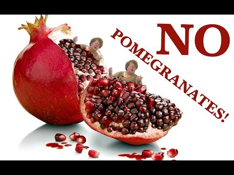 NO POMEGRANATES! Song feat. Dr. Jane Martino