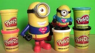 Play Doh Minions Superman Costume