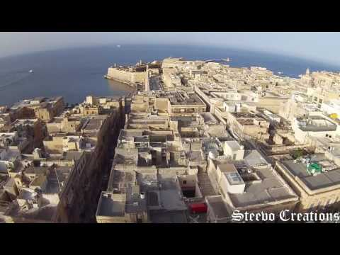 Valletta bird's eye view