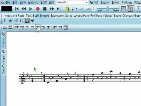Create Upbeat Measure in Notation Composer