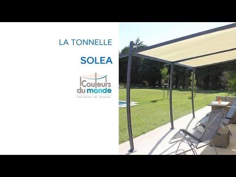 Tonnelle Solea Castorama - YouTube