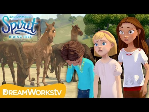 The Grooming Wagon, Pt. 1: Horse Cleaning Calamity | SPIRIT RIDING FREE (EXCLUSIVE SHORT)