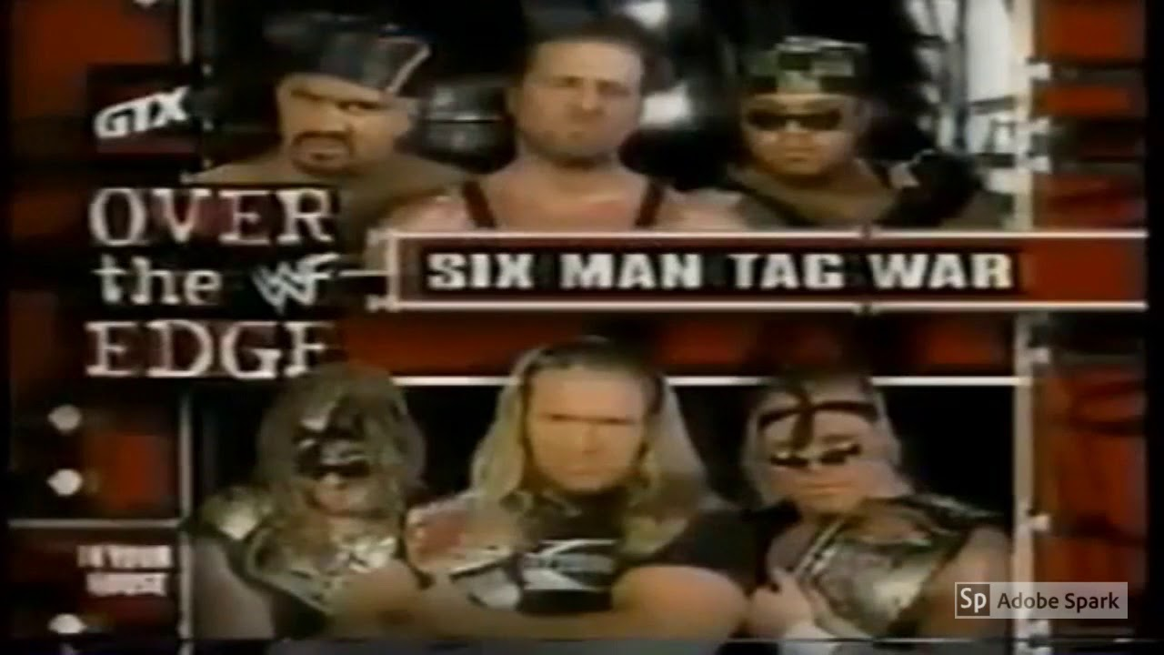 Wwf Over The Edge In Your House 1998 Match Card Youtube