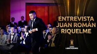 Entrevista a JUAN ROMÁN RIQUELME | CONMEBOL Libertadores