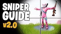 Diese Sniper Tipps machen Dich zum Pro! ► Fortnite Battle Royale Sniper Guide v2