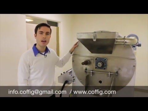 Roaster - Industrial Roaster & Cooling Bin System For SALE